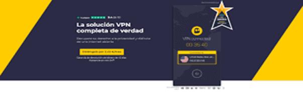 CyberGhost VPN - mejor vpn gratis