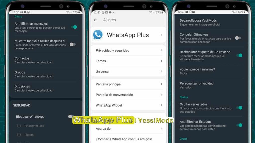 Última versión del WhatsApp plus