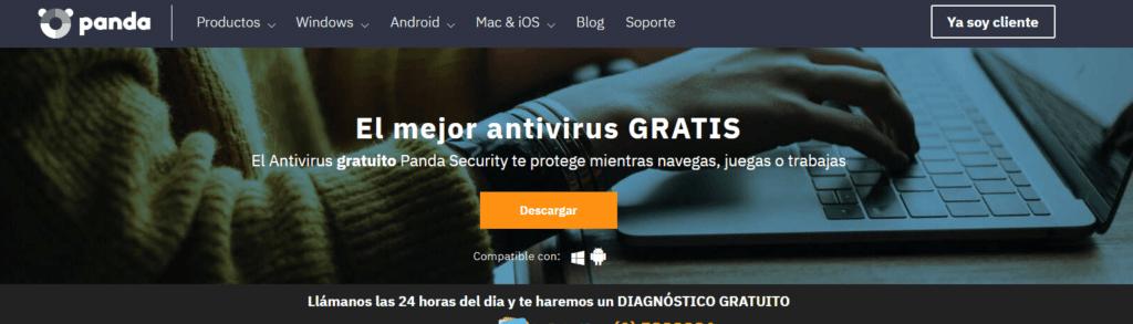 descargar antivirus gratis panda
